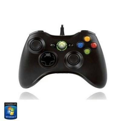 [CDAV] Manette filaire Microsoft pour Xbox 360 et PC - Noir