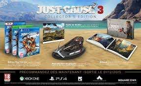 Just Cause 3 - Édition Collector sur PS4 et Xbox One