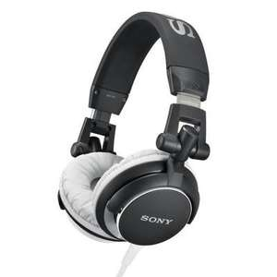 Casque audio DJ Sony MDR-V55  - Noir et Blanc