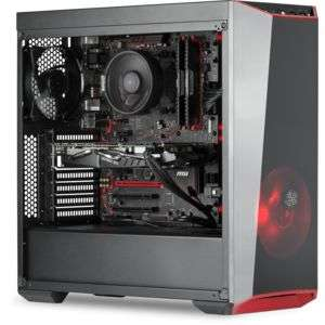 Ordinateur RueDuCommerce Spectre 60022244 - Ryzen 5-1600, GTX-1060 EX-OC (6 Go), 16 Go de RAM, 1 To + 120 Go en SSD, sans OS