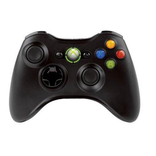 Manette de jeu sans-fil Microsoft Xbox 360 - pour PC ou Xbox 360