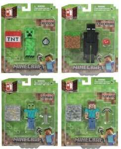 Figurine Minecraft Series #1 - modèle au choix