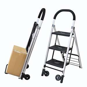 Marchepieds pliant / chariot de manutention Finether - 180 kg max. (vendeur tiers)