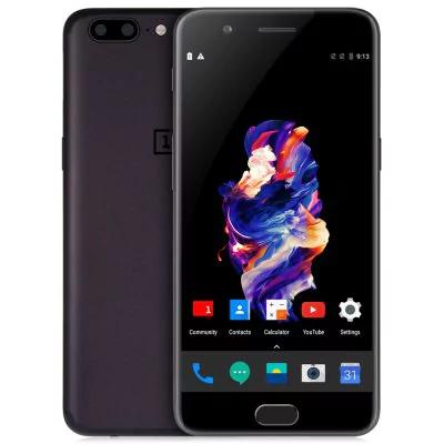 "[Entrepot FR] Smartphone 5.5"" OnePlus 5 - full HD, SnapDragon 835, 8 Go de RAM, 128 Go, noir"