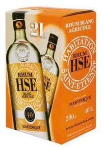 Bag in box rhum HSE - 2L, 40°
