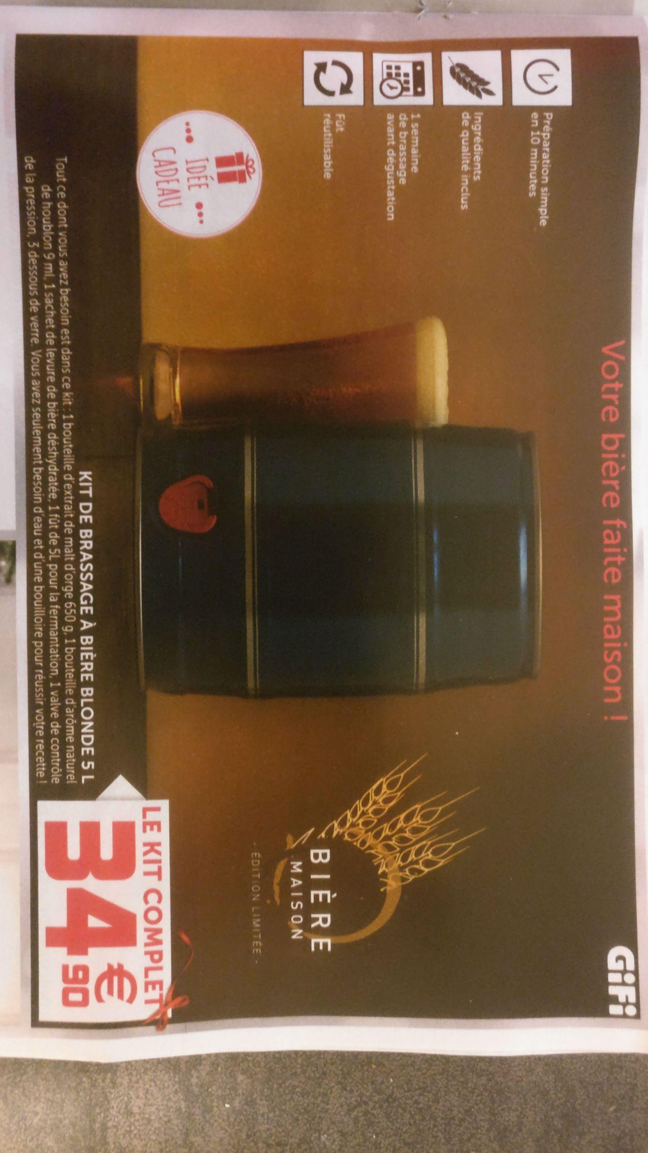 Kit de brassage de bière