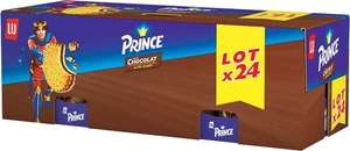 Maxi-pack de 24 Paquets de Prince Chocolat - 7.2Kg