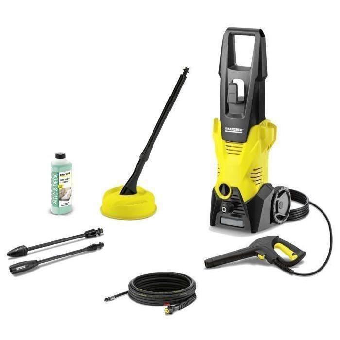 Nettoyeur haute pression Karcher K3 Home & Pipe - 120 bar, 1600W + débouche canalisations et brosse terrasse