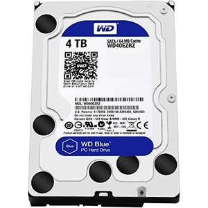 "Disque dur interne 3.5"" Western Digital Blue 3,5"" - 4 To"
