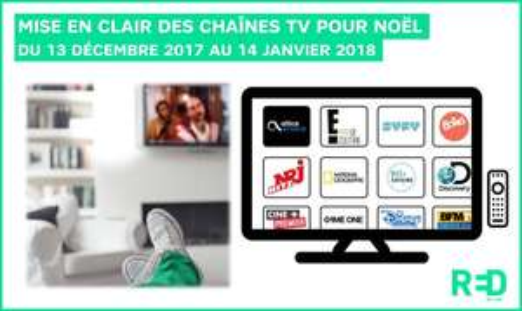 [Clients RED Box] 120 chaînes TV en clair