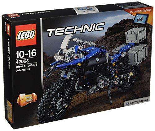 Jeu de construction Lego Technic (42063) - BMW R 1200 GS Adventure