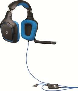 Casque Gaming Logitech G430 - 7.1 Surround Pro Gaming PC/PS4/Xbox One