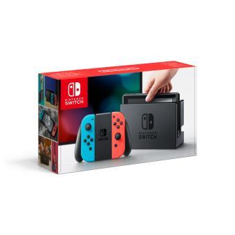 Console Nintendo Switch + Jeu Mario Odyssey + Kit pochette Mario + 30€ en bons d'achat