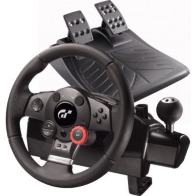 Volant + pédales Logitech Driving Force GT Refresh pour PC et PS3 Noir