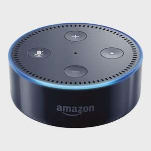 Assistant vocal Amazon Echo Dot - 2ème version, noir