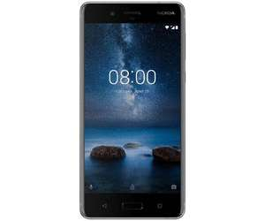 """Smartphone 5.3"""" Nokia 8 - SnapDragon 835, 4 Go de RAM, 64 Go à la Fnac Forum des Halles Paris (75)"""