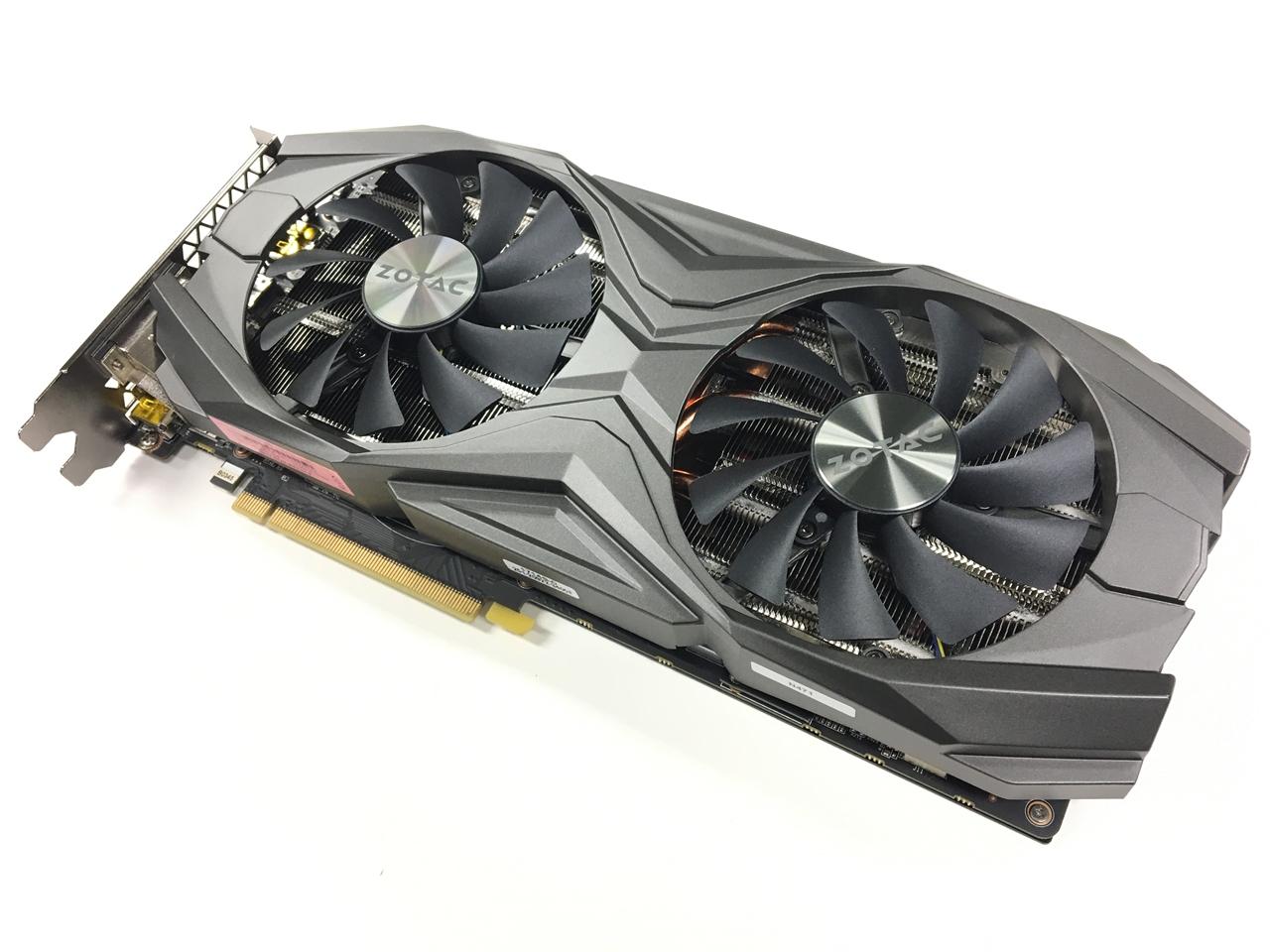 Carte graphique Zotac GeForce GTX 1080 Ti AMP - 8 Go