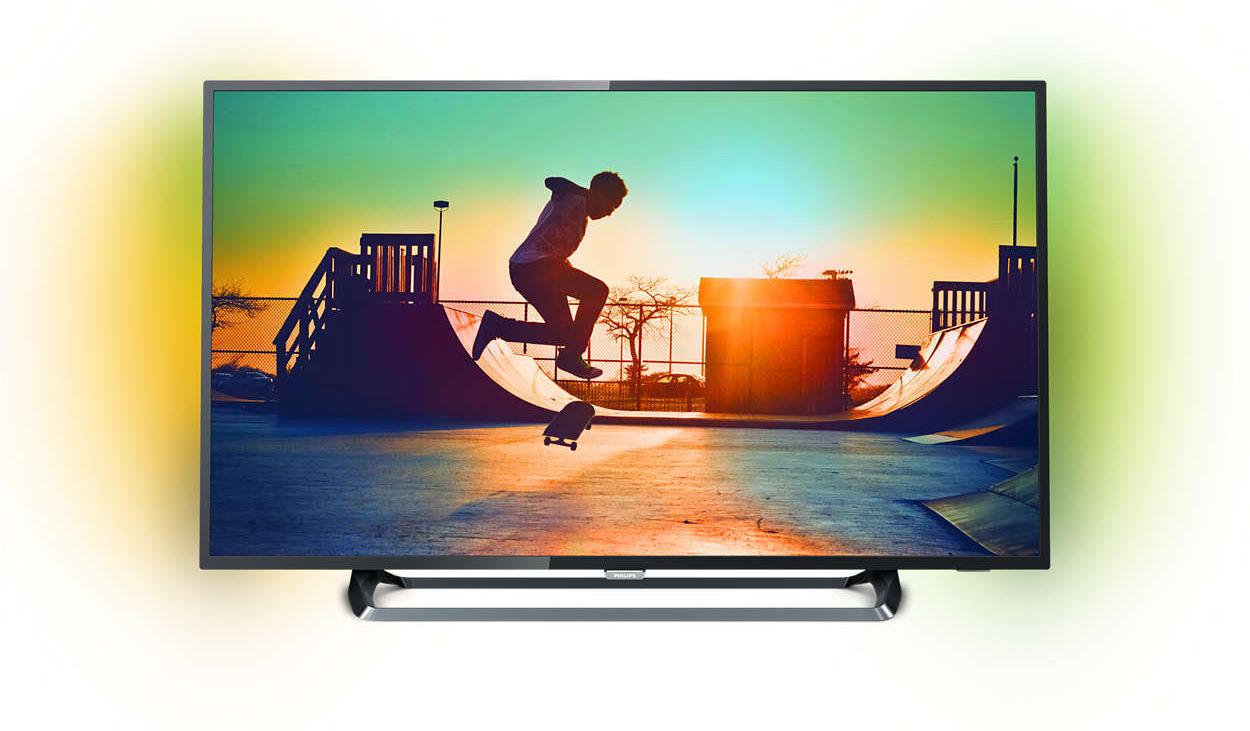"""TV 50"""" Philips 50PUS6262 - 4K - 900 Hz PPI - HDR - TV Connectée & Ambilight (via ODR de 50€)"""