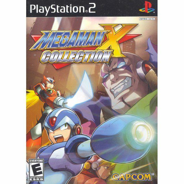 Megaman X Collection sur PS2 - Version US