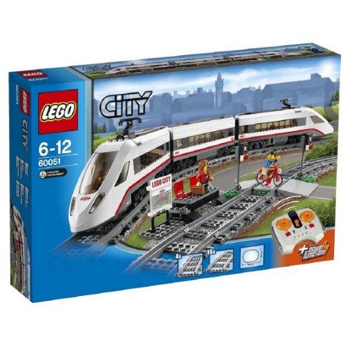 Lego 60051 Le train de passagers + Lego Batman Movie 70902 offert