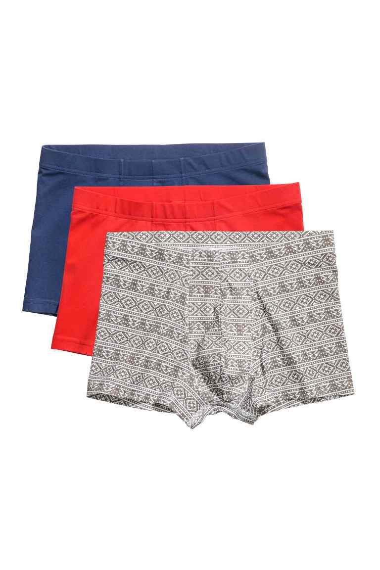 Lot de 3 boxers (taille au choix)