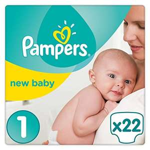2 packs de 22 couches Pampers New Baby 2-5 kg Taille 1 - Caluire (69)