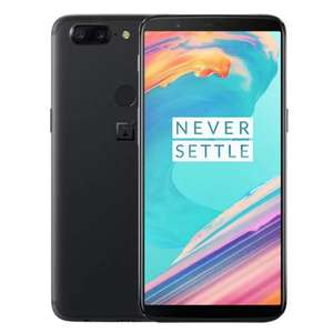 "Smartphone 6.01"" OnePlus 5T - SnapDragon 835, 8 Go de RAM, 128 Go - Version internationale"