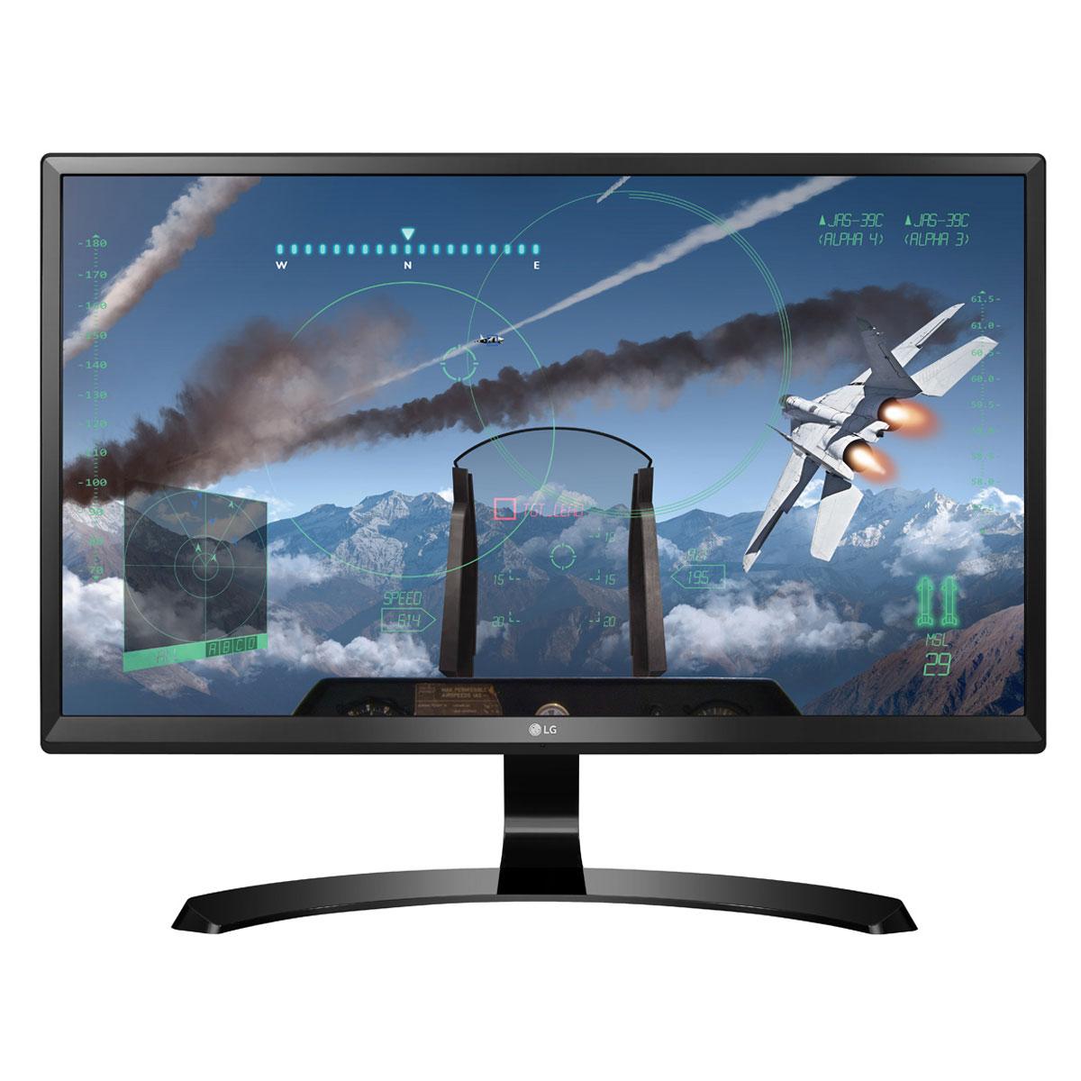 "Ecran PC 27"" LG 27UD58-B - IPS, 4K UHD, FreeSync, 5ms"