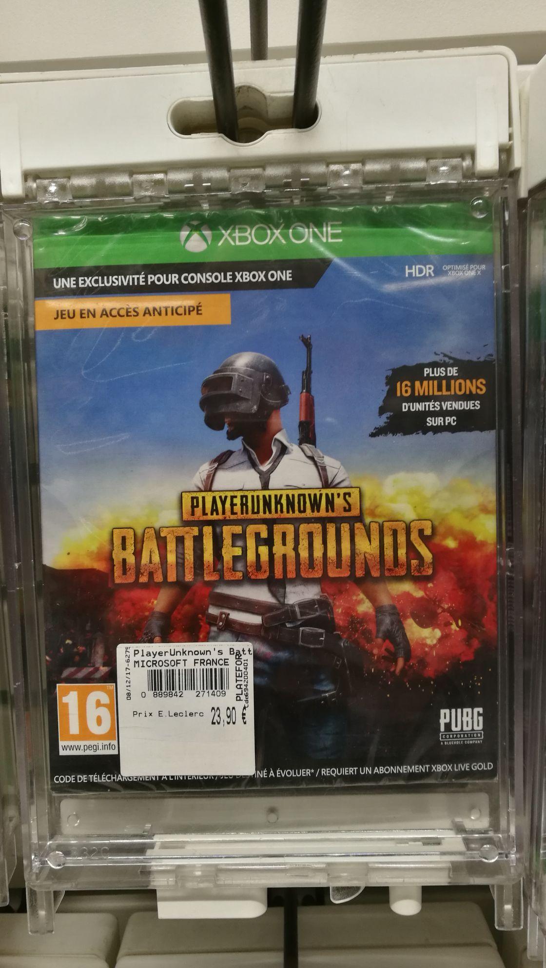 Jeu PUBG sur Xbox One - Blois (41)