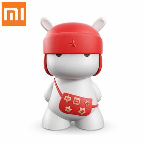 Enceinte bluetooth 4.0 Xiaomi Lapin  sans fil Haut-parleur Support de carte SD - Rouge
