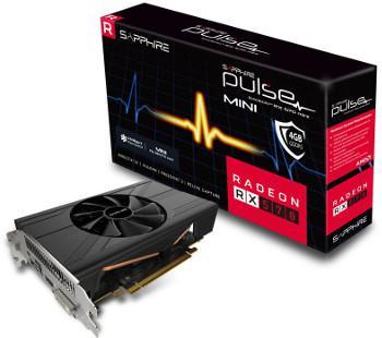 Carte graphique ATI RX 570 Pulse Mini - 4 Go DDR5