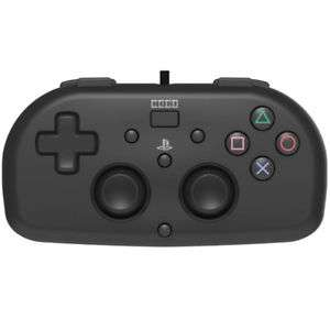 Manette Filaire Hori Mini Wired Gamepad pour PS4 ps4-099u - Noir