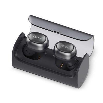 Ecouteurs intra-auriculaires sans fil QCY Q29 Pro avec boîte de recharge - Noir
