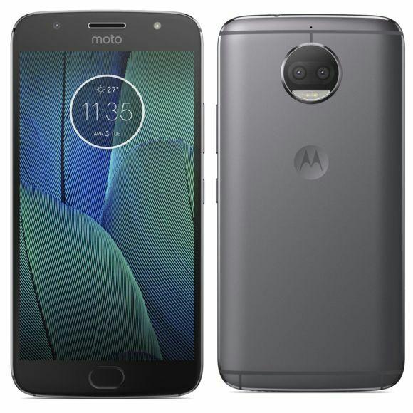 "Smartphone 5.5"" Lenovo Moto G5S Plus Gris - IPS Full HD, Snapdragon 625, RAM 3Go, 32Go, Android 7.1"