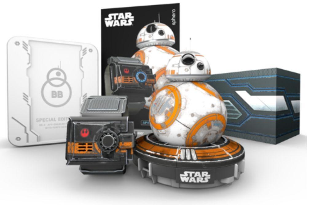Jouet Star Wars Special Edition Battle-Worn - Droïde Sphero BB-8 + Bracelet Force Band (Frais de livraison et de douanes inclus)