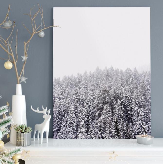 Sélection de toiles photos XXL personnalisées en promotion - Ex : Toile photo 120 x 80cm à 22€