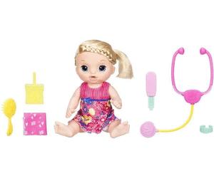 Poupon Hasbro Baby Alive est malade - blonde (via 27.95€ sur la carte de fidélité + 15€ en bon d'achat) au Carrefour Meylan (38)