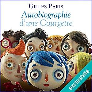 Sélection de livres audio pour enfant (0-10 ans) à 5.99€ ou moins - Ex : Autobiographie d'une Courgette