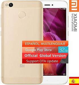 "Smartphone 5"" Xiaomi Redmi 4X Or - HD, Snapdragon 435, RAM 3 Go, RAM 32 Go, 4G (B20) (118,99€ avec le code PARTY15)"