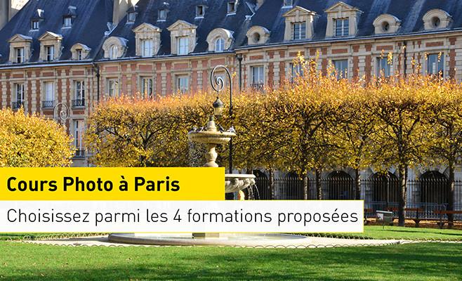 Cours de photos (Paris, Lyon, Bordeaux) - Ex : Pack 1 cours 3h de formation à Paris