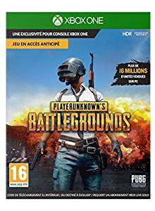 PlayerUnknown's Battlegrounds offert pour l'achat d'une console Xbox One X