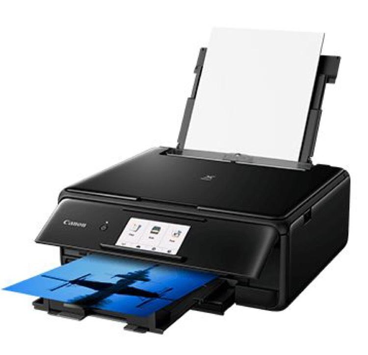Imprimante Multifonction Canon PIXMA TS8150 Noir -  WiFi (Via ODR 40€)