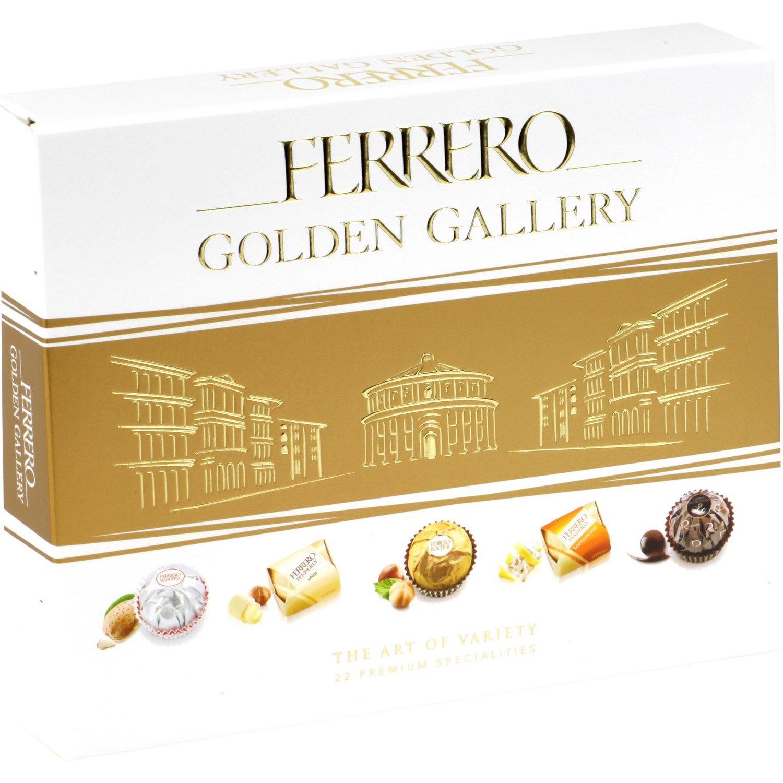 2+1 sur une sélection de chocolats - Ex : 3 boîtes de Chocolats Ferrero Golden Gallery 3 x 34 (via 27.25€ sur la carte)