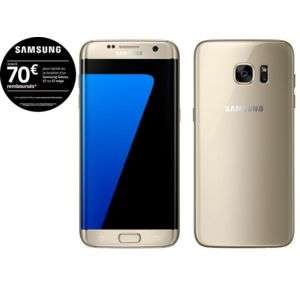 "Smartphone 5.5"" Samsung Galaxy S7 Edge Or - 32 Go (Via ODR 70€)"