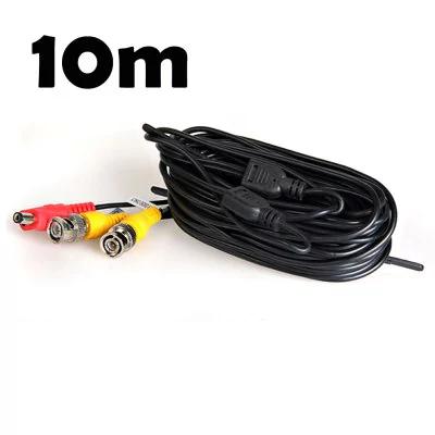 Câble CCTV pour Caméra d'Enregistrement Video - 10m - à partir de 4 frais de port gratuit (Entrepôt Europe)