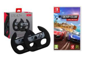 Gear Club Unlimited sur Nintendo Switch + 2 volants de course