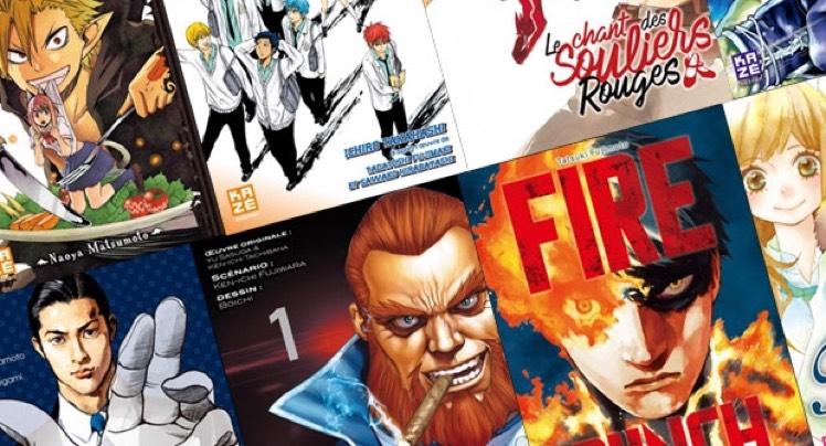 Sélection de manga dématérialisés en promotion - Ex : Fire Punch >- Tome 1