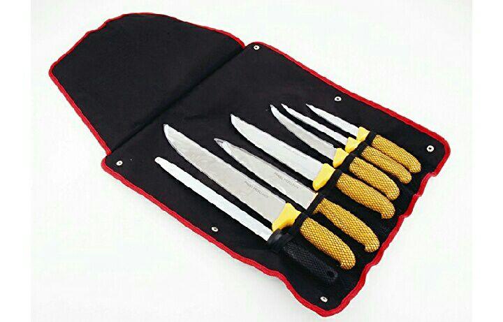 Sac de 7 Couteaux Boucher et Fusil Pradel Excellence - I7107T