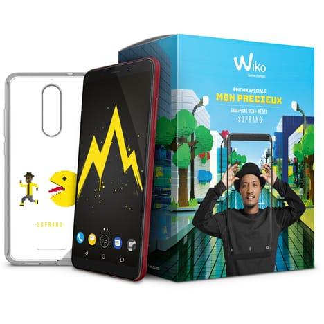 """Smartphone 5.7"""" Wiko View - double SIM, 3 Go RAM, 32 Go, noir - Edition Spéciale Mon Précieux"""