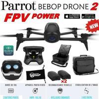 Pack drone Parrot Bebop 2 power - Pack FPV - 2 Batteries + Valise transport + Etui (vendeur tiers)